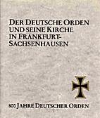Der Deutsche Orden und seine Kirche in…