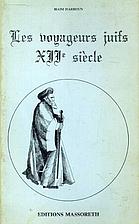 Les voyageurs Juifs du Moyen Age - XIIème…
