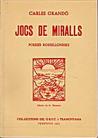Jocs de miralls: poesies Rosselloneses by…