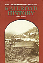 Railroad History 184, Spring 2001 by Mark…