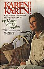 Karen! Karen!: One woman's response to…