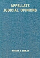 APPELLATE JUDICIAL OPINIONS by Robert A.…