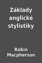 Základy anglické stylistiky by…