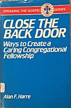 Close the Back Door: Ways to Create a Caring…