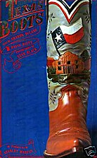 Texas Boots by Sharon Delano