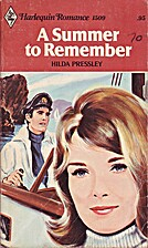 A Summer to Remember by Hilda Pressley