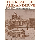 The Rome of Alexander VII, 1655-1667 by…