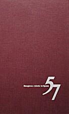 Daugavas rakstu krājums 57 by Andrejs…