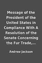 Message of the President of the United…
