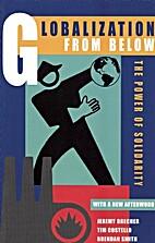 Globalization from Below by Jeremy Brecher