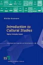 Introduction to Cultural Studies: Topics,…
