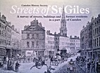 The Streets of St Giles: A Survey of…