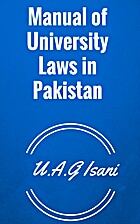 Manual of laws in pakistan - volume III by…
