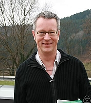 Author photo. Günter M. Ziegler. Photo by Renate Schmid.