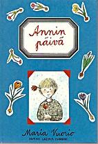 Annin päivä by Maria Vuorio