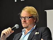 Author photo. Fredrik Lindström at Gothenburg Book Fair 2011