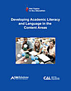 Developing academic literacy and language in…