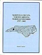 McDowell County, North Carolina, marriage…