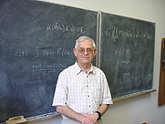 Author photo. Jacob D. Bekenstein in his office at the Hebrew University in Jerusalem