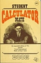 Student Calculator Math by Staff of Texas…