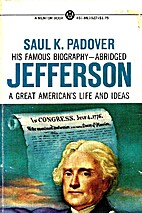 Jefferson by Saul K. Padover