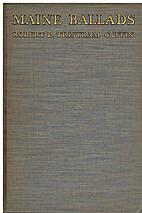 Maine ballads by Robert P. Tristram Coffin