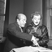 Author photo. Ormandy with Eleanor Steber:  Image © <a href=&quot;http://www.bildarchiv.at/&quot;>ÖNB/Wien</a>