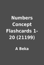 Numbers Concept Flashcards 1-20 (21199) by A…