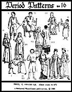 Period Patterns No. 16 - Tunics, C. 650 -…