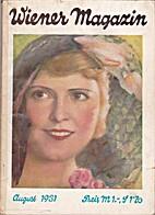 Wiener Magazin August 1931 by Richard F.…