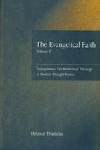 Prolegomena: The relation of theology to…