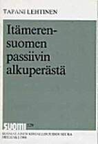 Itämerensuomen passiivin alkuperästä by…