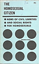 The Homosexual Citizen (Issue #3) by Lily…