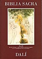 Biblia Sacra Dalí by Salvador Dalí