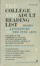 The College and Adult Reading List of Books…
