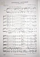 Coventry Antiphon by Herbert Howells