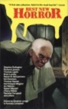 Best New Horror 1 by Stephen Jones