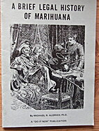 A brief legal history of marihuana by…