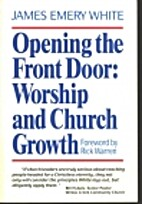 Opening the Front Door: Worship and Church…