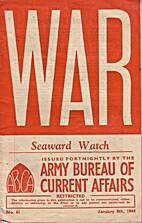 War Seaward Watch issue n° 61 January 8th…