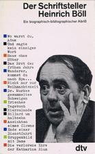 Der Schriftsteller Heinrich Böll. Ein…