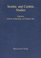 Semitic and Cushitic studies by Gideon…