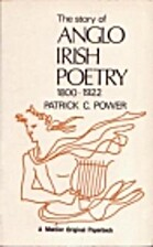 The story of Anglo-Irish poetry, 1800-1922…