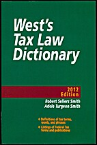 West's Tax Law Dictionary