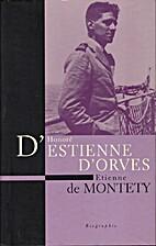 Honoré Estienne d'Orves, un héros…