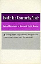 Health is a Community Affair: Report (NCCHS:…