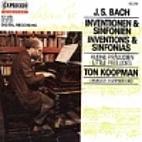 Inventions & sinfonias by Johann Sebastian…