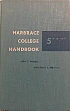 Harbrace College Handbook 5th Edition by…