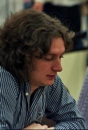 Author photo. Jan Timman (Chess Olympiad 1984 in Saloniki)