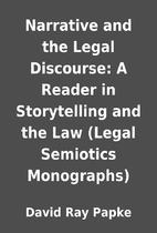 Narrative and the Legal Discourse: A Reader…